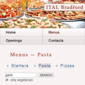 Ital Bradford Mobile Site